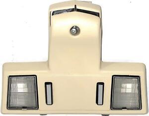 85-90 Oldsmobile Ninety-Eight 98—Reading Light Dome Lamp Sun Visor Hook, Beige