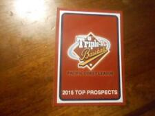 2015 PCL TOP PROSPECTS Single Cards YOU PICK FROM LIST $1 to $2 each OBO