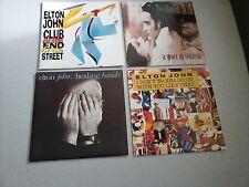 """Elton John : 4 vinyles 45 tours (neufs) / 7"""" brand new vinyls"""