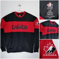 Hockey Canada Mens Large Sweater Team Canada