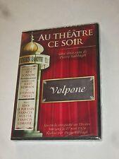 DVD AU THEATRE CE SOIR -   VOLPONE  NEUF