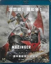 Mazinger Z Infinity Movie 2018 Blu Ray Japanese Animation NEW R3 Eng Sub