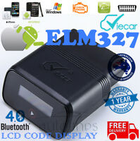 VIECAR Bluetooth 4.0 ELM327 OBD2 Diagnostic Fault Code Scan Tool iPhone ANDROID