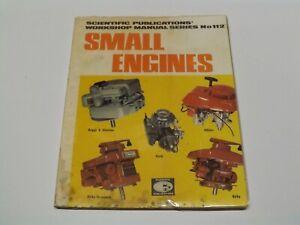 Scientific Publications No 112 Small Engines Workshop Manual 1974