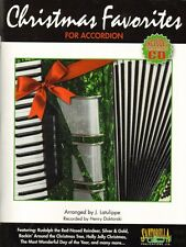 Christmas Favorites for Accordion, Music Book & CD