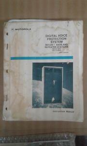 Motorola Micor Base/Repeater Stations 406-420 MHz - 450512 Instruction Manual
