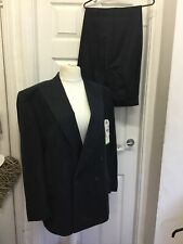 Mens Canada C&A Pure New Wool 2 Piece Suit Jacket C44 & Trousers W39