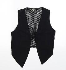 Preworn Womens Black   Jacket Waistcoat Size M