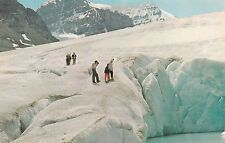 """*Canada Postcard-""""Columbia's Icefield"""" /110 Sq. Miles of Ice & Snow/ (U1-CAN16)"""