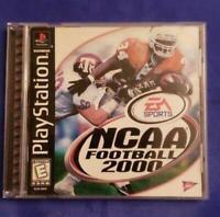 NCAA Football 2000 Playstation 1 PS1 Game Used