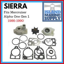 Mercruiser Alpha One Gen 1 ('86-'90) Water Pump Impeller Kit W Housing 18-3320