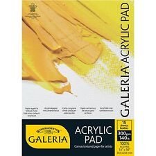 Winsor & Newton Galeria Acrylic Paper Pads A4 Size