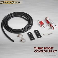 Universal Adjustable Racing Turbo 30PSI Manual Boost Bypass Controller Kit Red