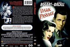 Dark Passage ~ New DVD ~ Humphrey Bogart, Lauren Bacall (1947)