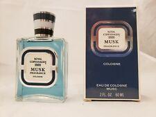 Royal Copenhagen Musk Fragrance Cologne  2oz 60ml  NIB