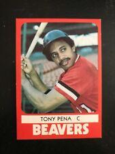 1980 TCMA Minor League Baseball Card #24 - Tony Pena - Portland Beavers