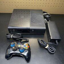 Microsoft Xbox 360 E 1538 Gaming Console 4GB W/Controller + Power Brick - Tested