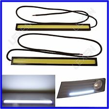 COB High Power Xenon White LED DRL Daytime Light Backup Interior Strip L-602 e