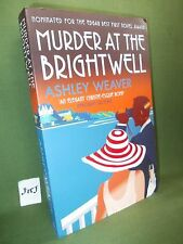 ASHLEY WEAVER MURDER AT THE BRIGHTWELL FIRST UK PAPERBACK EDITION