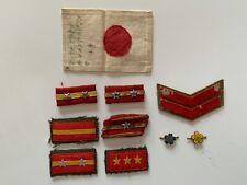 10 WW2 Japanese insignia