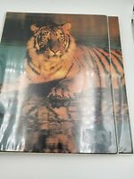 Mead The Organizer Lion Trapper Keeper Style Binder Vintage