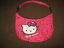 HELLO KITTY Sanrio SATCHEL/ SHOULDER Bag BRIGHT Pink(Fully Lined)