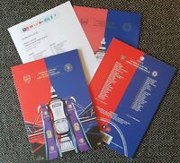 FA CUP FINAL 2020 Arsenal v Chelsea HEADS UP PROGRAMME + TEAMSHEET! 1/8/20!