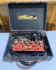 Vintage Foredom Flexible Shaft Rotary Tool Potable Workshop With Case