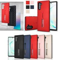 For Samsung Galaxy Note 10 / 10 Plus Rubber Ring Hybrid Finger Grip Case Cover