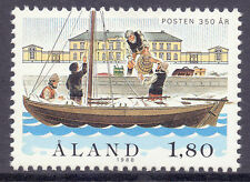Mint Never Hinged/MNH Ships, Boats Alandish Stamps