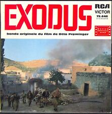 EXODUS BO FILM OTTO PREMINGER 45T EP BIEM RCA 75.646 DISQUE NEUF / MINT