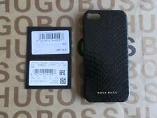 NEW HUGO BOSS APPLE IPHONE 4 4S BLACK SNAKE SKIN HARD CASE COVER SLEEVE CASE