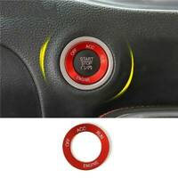 Durable Red Start Stop Engine Switch Button Cover For Dodge Charger 2015-2019