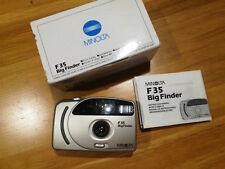 Minolta F35 BIG finder - compact 35mm film camera with wide 27mm lens