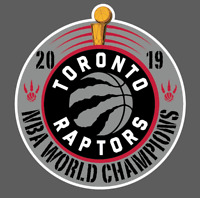 Toronto Raptors 2019 NBA World Champions Vinyl Car Laptop Decal