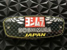 YOSHIMURA JAPAN 3D Motorcycle Exhaust Heat Resistant Sticker Decal Aluminium