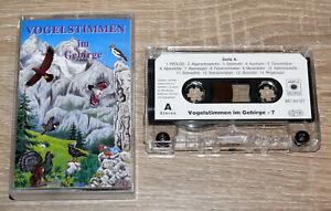 Vogelstimmen im Gebirge, Folge 7 (2000) MC, Tape, mit Erläuterungen, gebraucht
