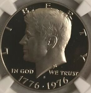 1776-1976 s 50c Clad Kennedy Bicentennial Half Dollar NGC PF 69 UC
