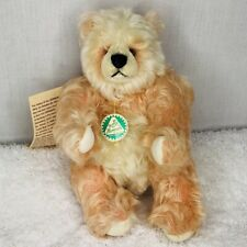 Hermann Peach Panda Bear Jointed Limited 341/1000 Artist Edition Mohair Germany