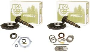 "1973-1988 GM 10.5"" Chevy 14 Bolt Dana 60 4.56 Ring and Pinion Mini USA Gear Pkg"