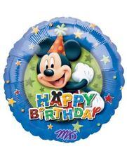 "Mickey Mouse 18"" Happy Birthday Anagram Balloon Birthday Party Decorations"