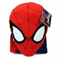 "Marvel Spiderman Whoosh Nogginz Pillow with 40"" x 50""  Blanket Set Whoosh Noggin"