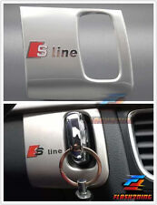 Interior S line Middle Console Key Hole Frame Cover Trim for Audi 09-15 A4 B8