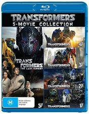 Transformers 5-Movie Collection 1 2 3 4 5 (Blu-ray, 2017, 5-Disc Set), SEALED