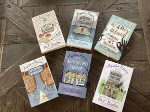 M.C Beaton Agatha Raisin Paperback Bundle - 6 Books