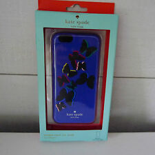 KATE SPADE Snap On BUTTERFLY Lapis Blue IPHONE 6 Hybrid CASE Cover RESIN New
