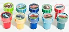 Disney Cars Doc Hudson Snot Rod Lightning McQueen Mater 10 Stamps