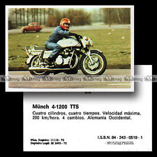 #mtr76.022 ★ MÜNCH 1200 TTS MAMMOUTH MAMMUT 1970's ★ Moto Motorismo 76