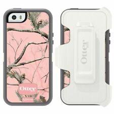 ! nuevo! Otterbox Defender Para Apple iPhone 5/5S/SE caso con clip-AP Rosa