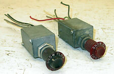 1950 1960 1970 Chevy GMC International Ford Dodge Jeep Snow Plow Light Switches